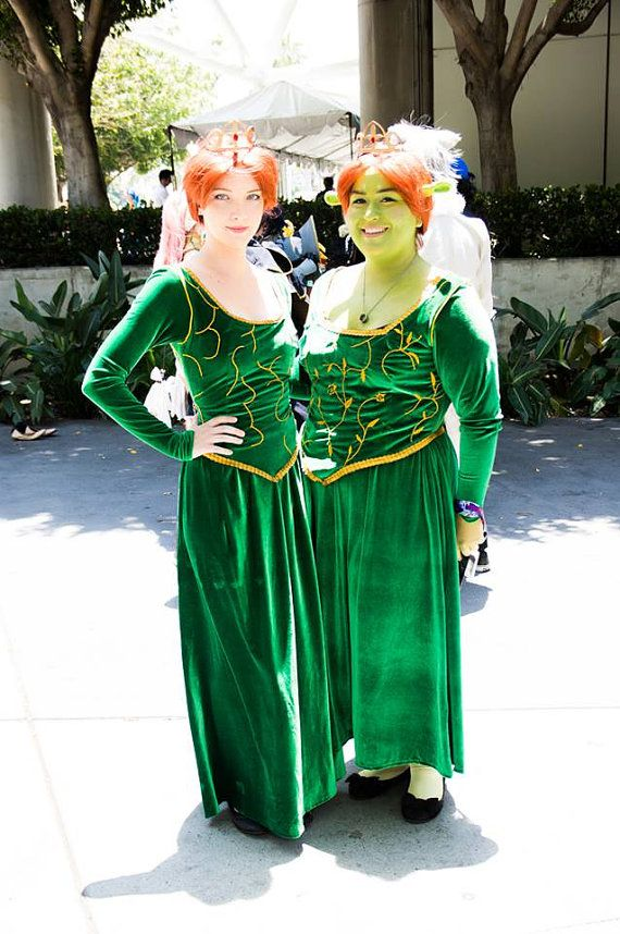Princess Fiona Cosplays Human & Ogre Versions by BuuBunnyCostumes