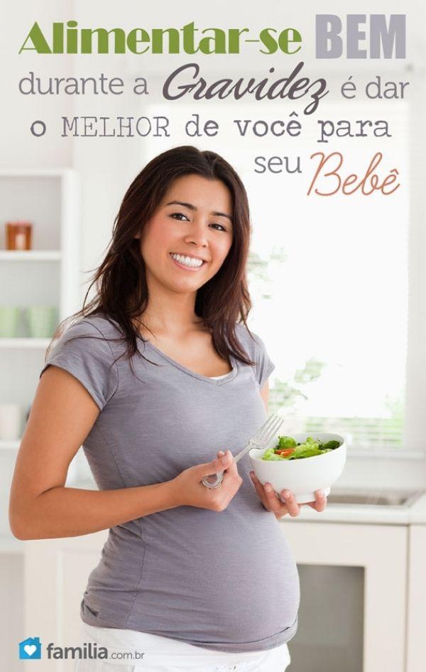 Alimentação na gravidez: 6 soluções para a saúde da mamãe e do bebê