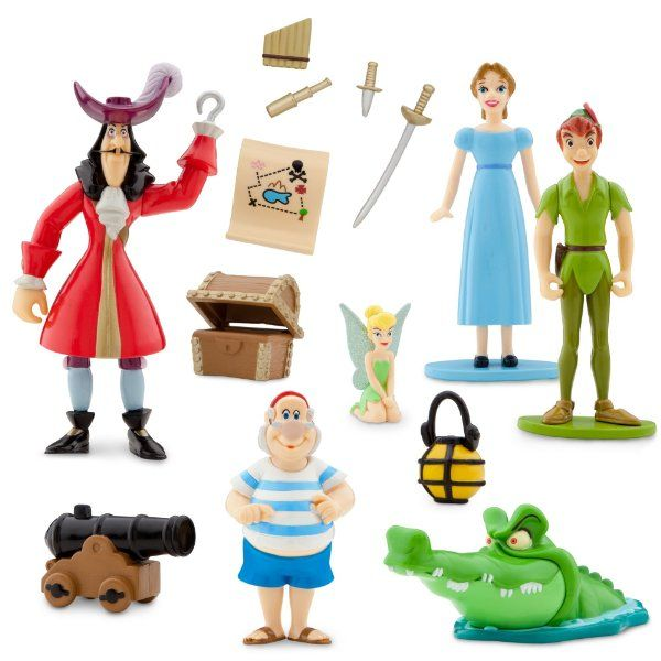 Walt Disneys Peter Pan Collectible Figure Set:Amazon:Toys & Games