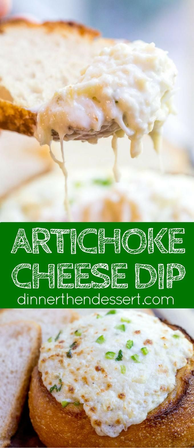 Artichoke Cheese Dip takes five minutes of prep and full of artichokes, Parmesan and cream cheese that is baked in…
