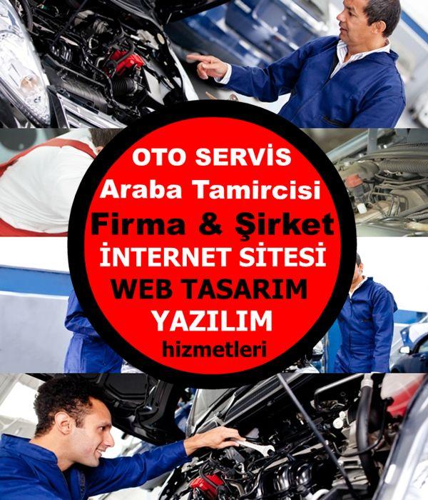 Araba Tamircisi & Oto Servis Firma Sitesi Yazılımı