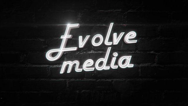 Заставка для видео-студии.  Клиент: Evolve media Продакшен: студия «Две Вороны» Моушн-дизайн: Виталий Мовша Музыка: Dopestuff - Ambient Tech