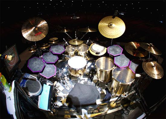 T00L/Danny Carey fans, here's a quick reference pic for how phenomenal drummer Danny Carey sets up his drums. Description from fox-actors.blogspot.com. I searched for this on bing.com/images