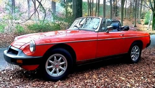 Stunning Classic MGB Roadster hire:  - Gift Vouchers For Sale (1979)