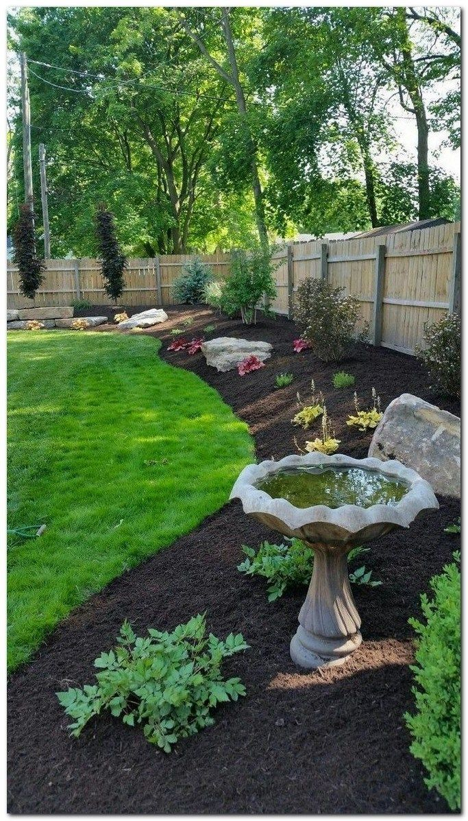 36 Backyard Privacy Fence Landscaping Ideas On A Budget 1