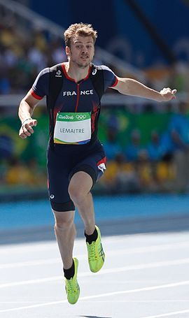 Christophe Lemaitre - Athlétisme - France - JO 2016