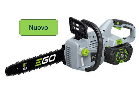 Motosega a Batteria Ego 56 volts CS 1600 E 40cm Corpo Macchina