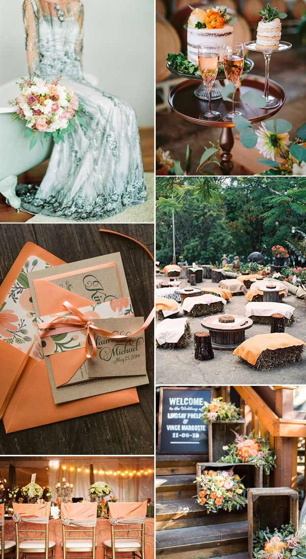 Cadmium Orange Pantone S 2017 Fall Wedding Color Inspiration From Lucky In Love Blog