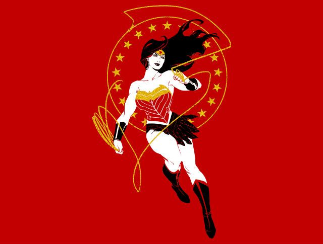Truth & Justice T-Shirt - Wonder Woman T-Shirt is $11 today at TeeFury!
