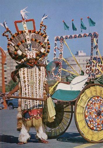 Zulu Rickshas – South African Rickshaw – Durban Ricksha