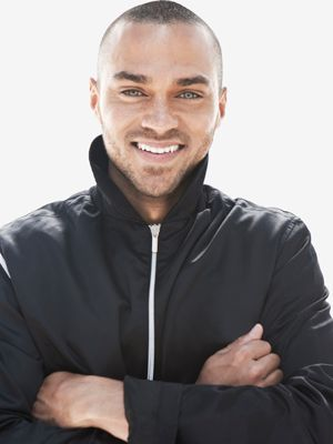 Jesse Williams. and with this pin my board looks a little less sad. Also Jesse, take me mountain hiking with you in that adorable jacket