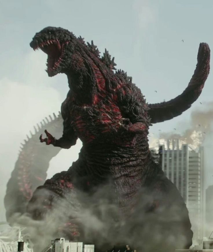I know there are some people who hate Shin Godzilla's design and stuff, but I love Shin Godzilla's design and how different this new Godzilla is compared to the other Godzilla incarnations. I love that Shin Godzilla is made up of microorganisms called mixotrophs, I love Shin Godzilla's purple atomic breath and how he can just shoot it out of his tail and back, I love that Shin Godzilla goes through evolutionary forms, and finally I just love Shin Godzilla itself.