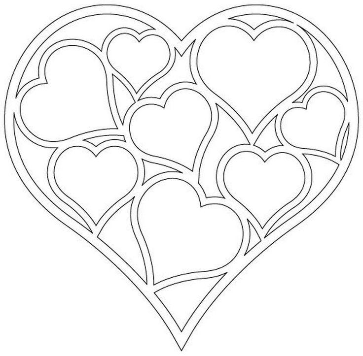Шаблоны для открыток день святого валентина