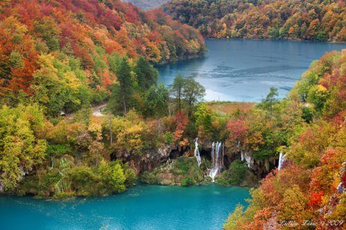 Splashes of Joy — landscapelifescape: National Park Plitvice...