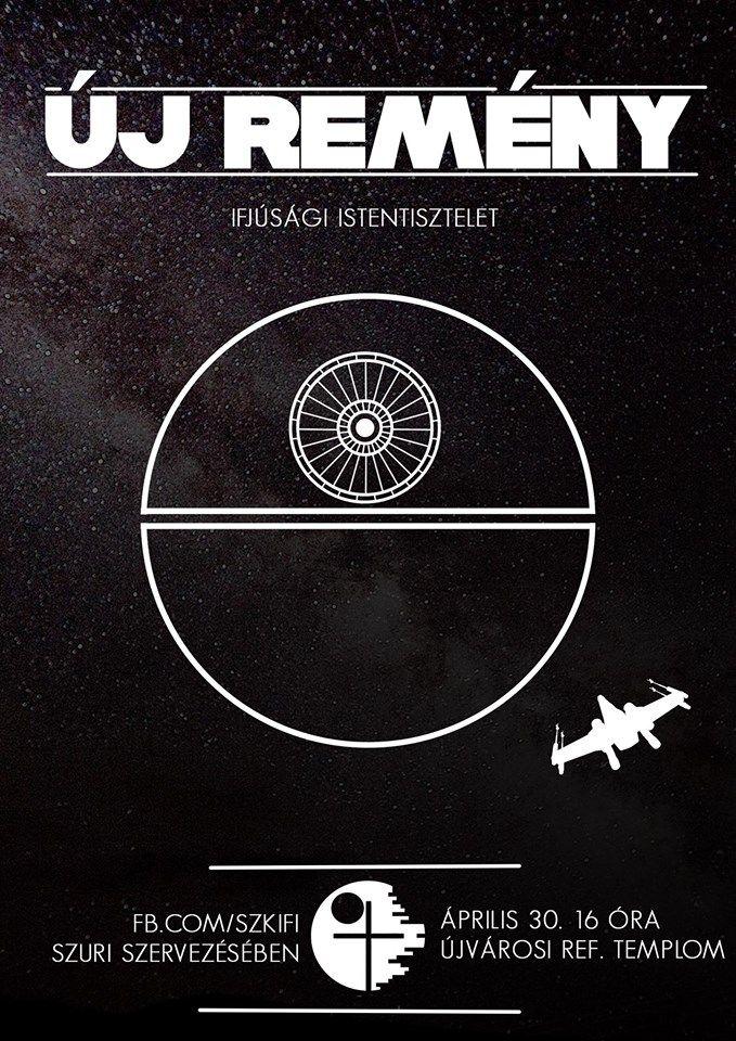 SZKIFI | Christian | Event Flyer | Poster | Star Wars | Sci-fi | lineart | DIY