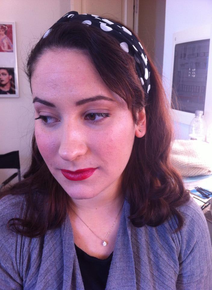 50's makeup
