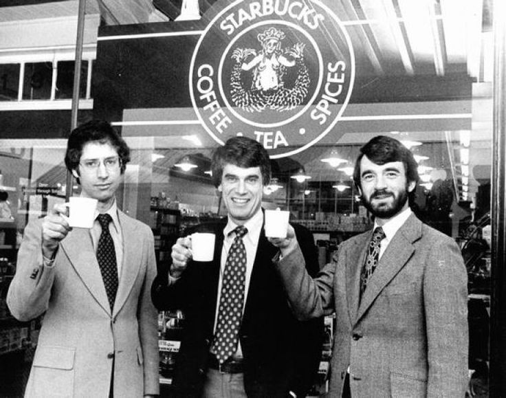 Jerry Baldwin, Gordon Bowker and Zev Sieg (founders of