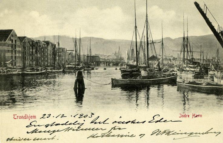 Trondheim, Norway in 1903