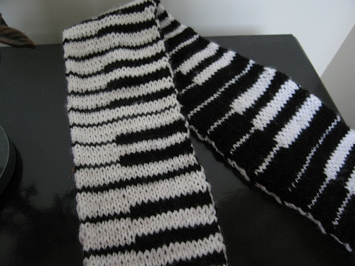 Free Double Knit scarf pattern Double Knitting Pinterest