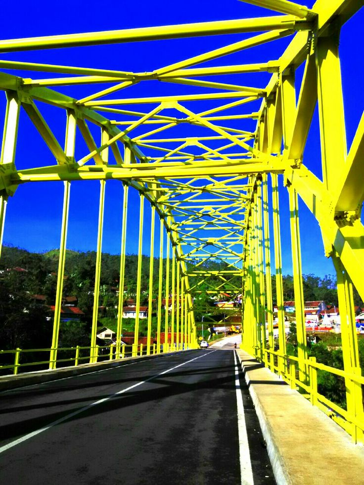 Kamojang hill bridge @garut indonesia