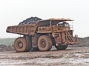Huge Dump Truck