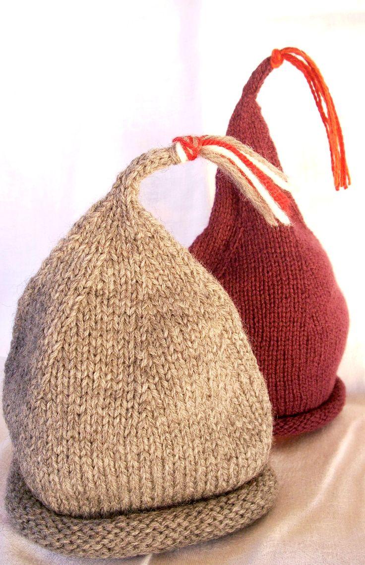 Türsack aus T-Shirtgarn stricken