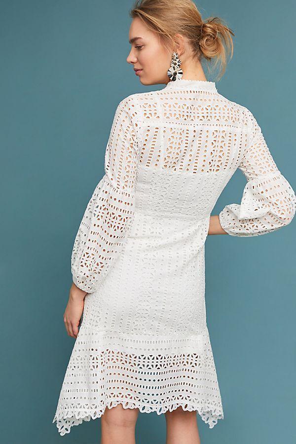 de56242aa6ac Nanette Lepore Newport Eyelet Dress | Prints | Eyelet dress, Nanette ...