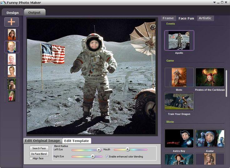 screenshot of Funny Photo Maker