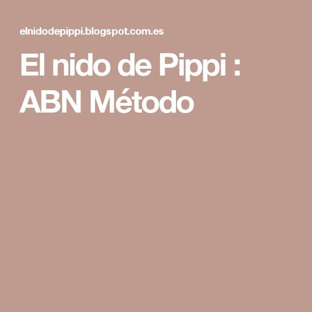El nido de Pippi : ABN Método