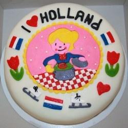 taart van blond Amsterdam !