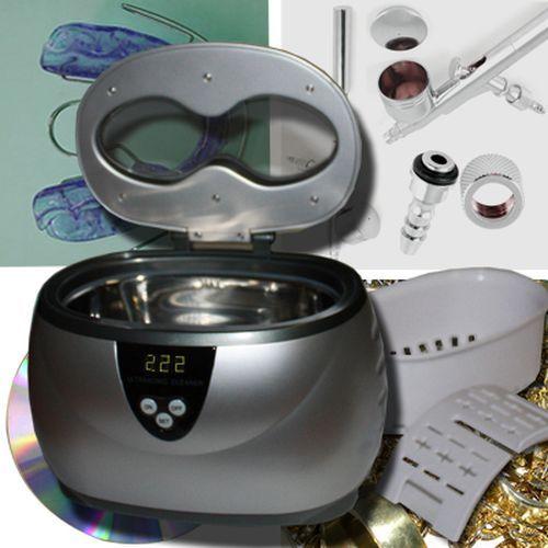 Ultraschallreiniger Reinigungsgerät Ultraschallgerät Schmuck Brillen Gold Silber US1