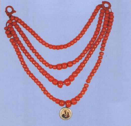 Folk jewellery from Poland.
