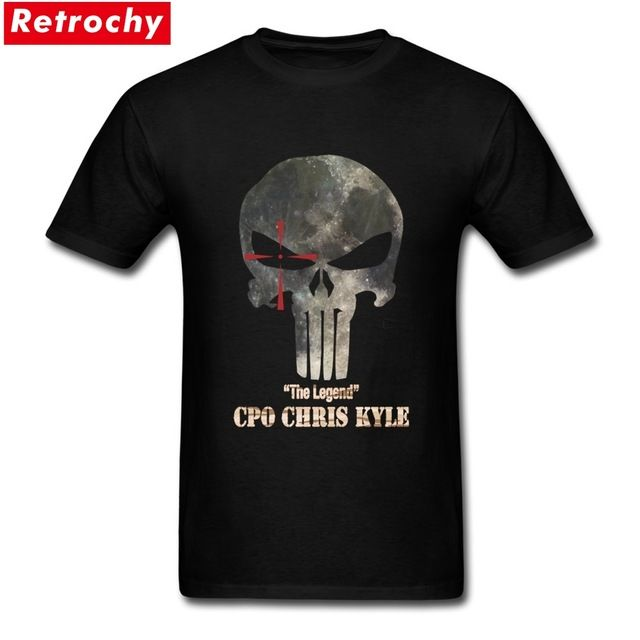 Good price Latest Design punisher T Shirt Men Skull PP Mask Tee chris kyle T Shirt  Family Short Sleeve Cotton 3XL Men's T-shirts just only $12.10 with free shipping worldwide  #tshirtsformen Plese click on picture to see our special price for you
