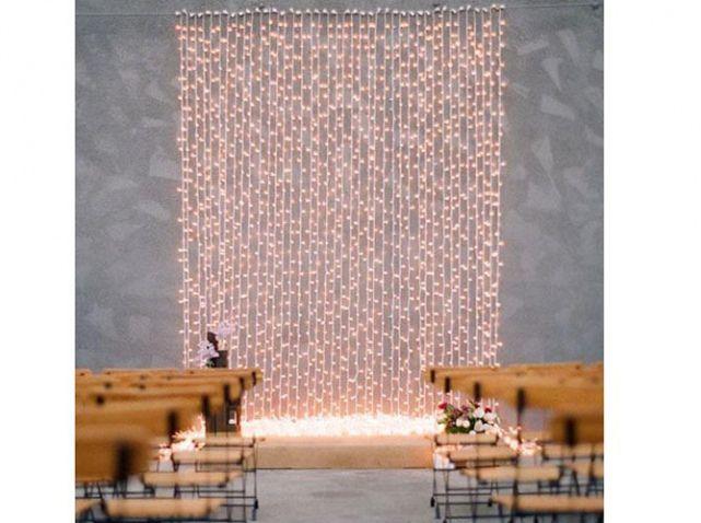 Les 25 meilleures id es concernant rideau lumineux sur - Rideau lumineux interieur ...