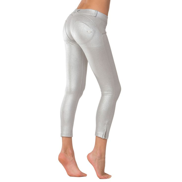 WR.UP® SHAPING EFFECT/ Ankle Length Metallic Wash Sliver