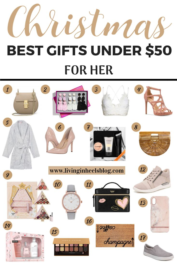 Best Christmas Gifts For Her Under $50 | Best gifts for ...