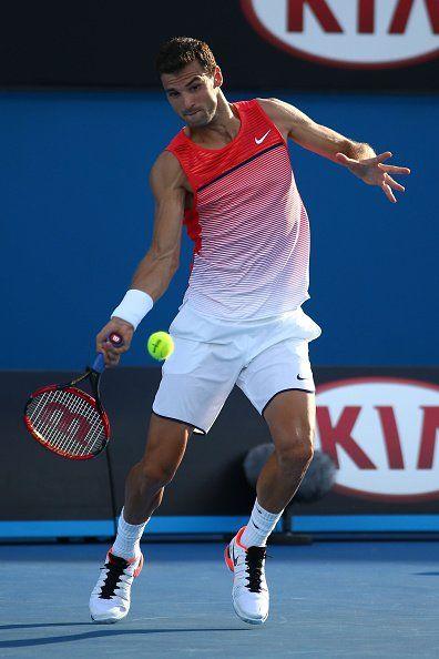 1/18/16 Via Live Tennis Results    ·  Australian Open - 1st Round: Grigor Dimitrov beat Paolo Lorenzi 6-3, 7-6, 6-3