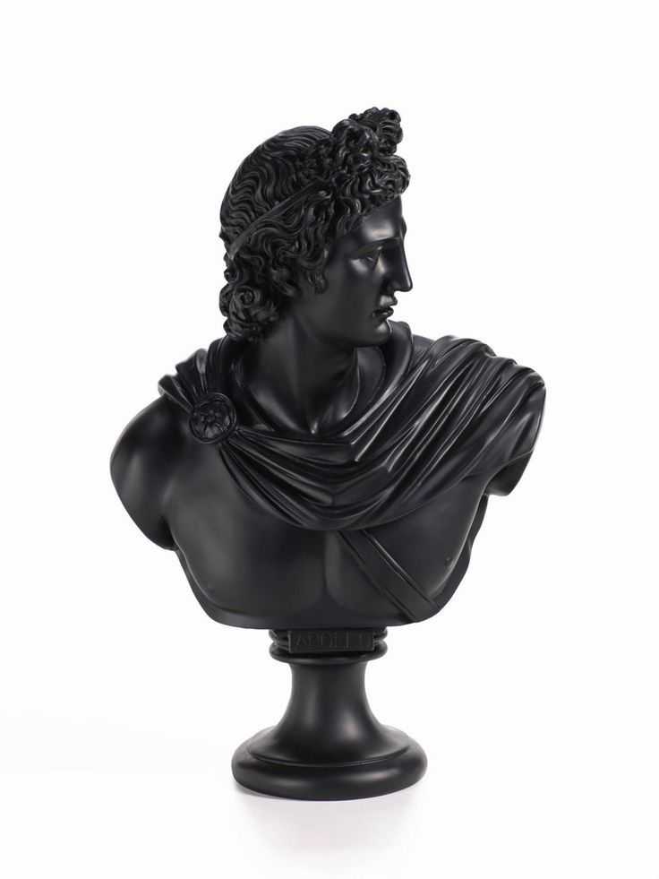 """Apollo and Diana Bust Statues  Diana Bust Dimensions: 6.75"""" x 13"""" Apollo Bust…"""