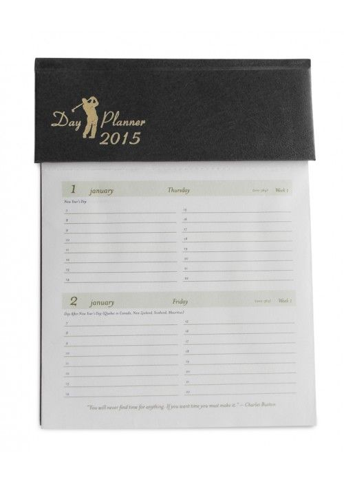 Get organized with Day Planner Black for keeping yourself organized with this wonderful 2015 diary for any use such as corporate, personal, school, business and home. For details visit http:nightingale.co.in.