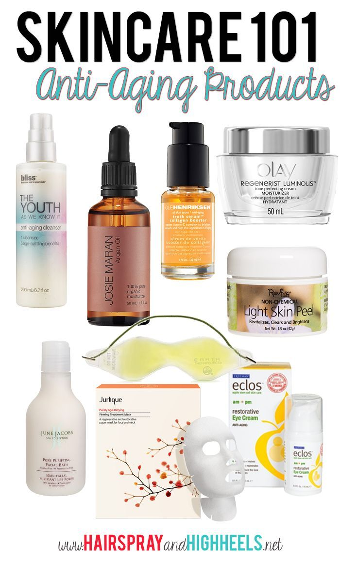 Best Anti-Aging Skincare Products #skincare