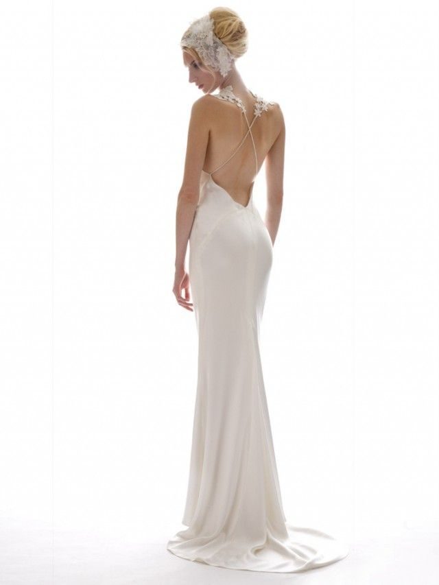 open low back wedding dress wedding dresses pinterest