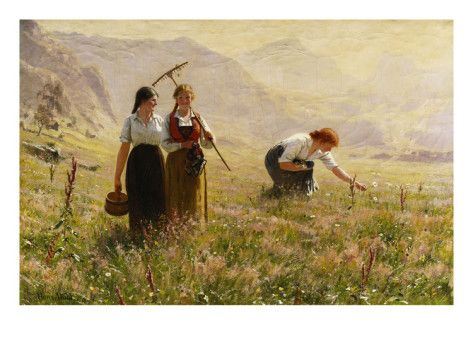 Hans Dahl (1849–1937): Summer's Day in Norway