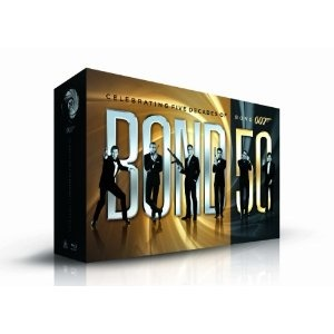 Bond 50 (Blu-Ray) - Collectible box-set  featuring all 22 James Bond films on Blu-ray Disc for the first time in one complete offering