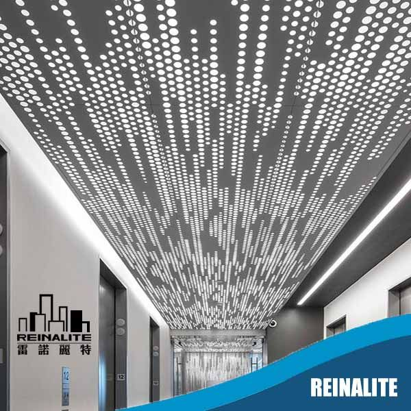 Standard Perforated Ceiling Panel System Metal Screen Metal Screen Doors Perforated Metal