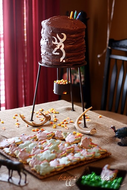 The 25 best Hunting birthday cakes ideas on Pinterest Hunting
