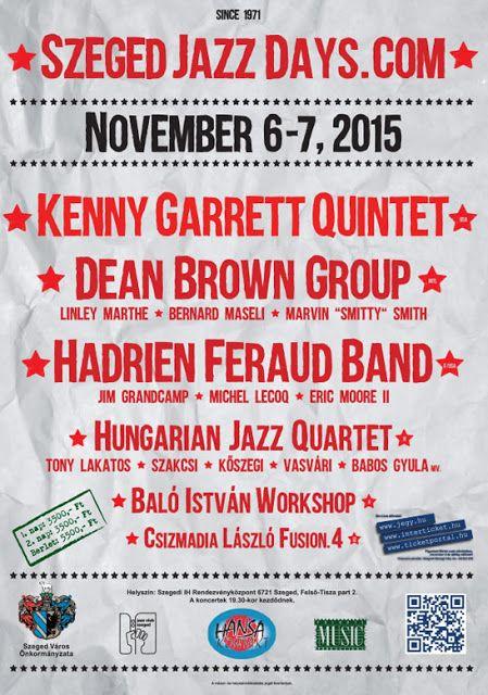 Plakát104: Szegedi Jazz Napok 2015