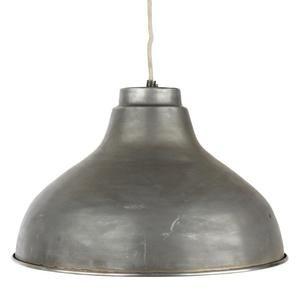 Industrilampa stor taklampa 39cm i zink, Hubsch