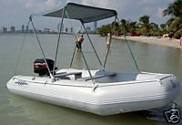 DIY Plan to Build Sun Canopy Bimini Top Inflatable Boat | eBay