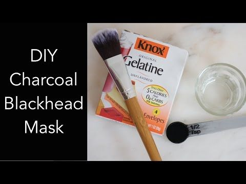 All Natural Charcoal Blackhead Mask Made with 2 Ingredients - Naturally Handcrafted