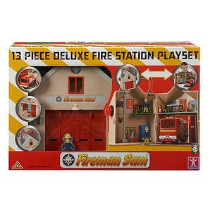 Fireman+Sam+Deluxe+Fire+Station+Playset